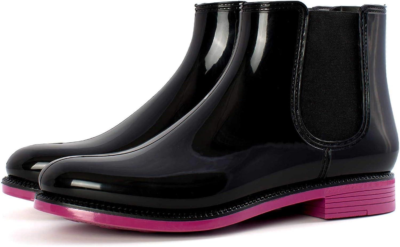 Womens Garden Boots Short Rain Enviro Brand new shipfree with Pull-On Style