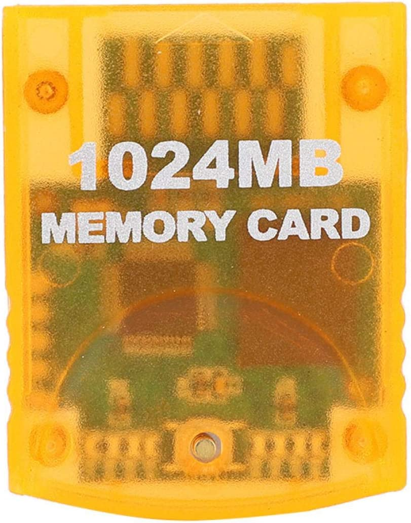 PUSOKEI Memory Card 1024MB for WII Gamecube Game Console, Fits for All for WII Versions of The Game, Large Capacity Memory Card
