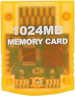 Minneskort, 1024MB minneskort med stor kapacitet med inbyggd blixtkärna, minneskortpassning för WII Gamecube-spelkonsol