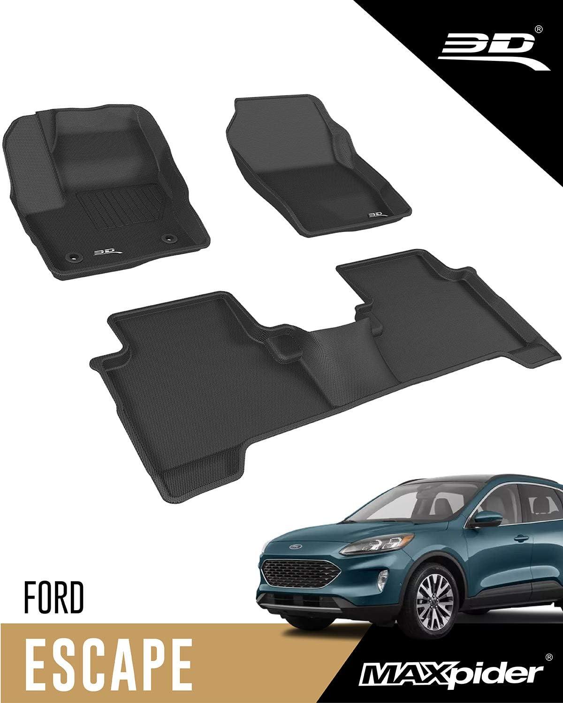 3D MAXpider Popular product - L1FR10601509 Ford Custom 2015-2019 Escape Fit Max 40% OFF All-