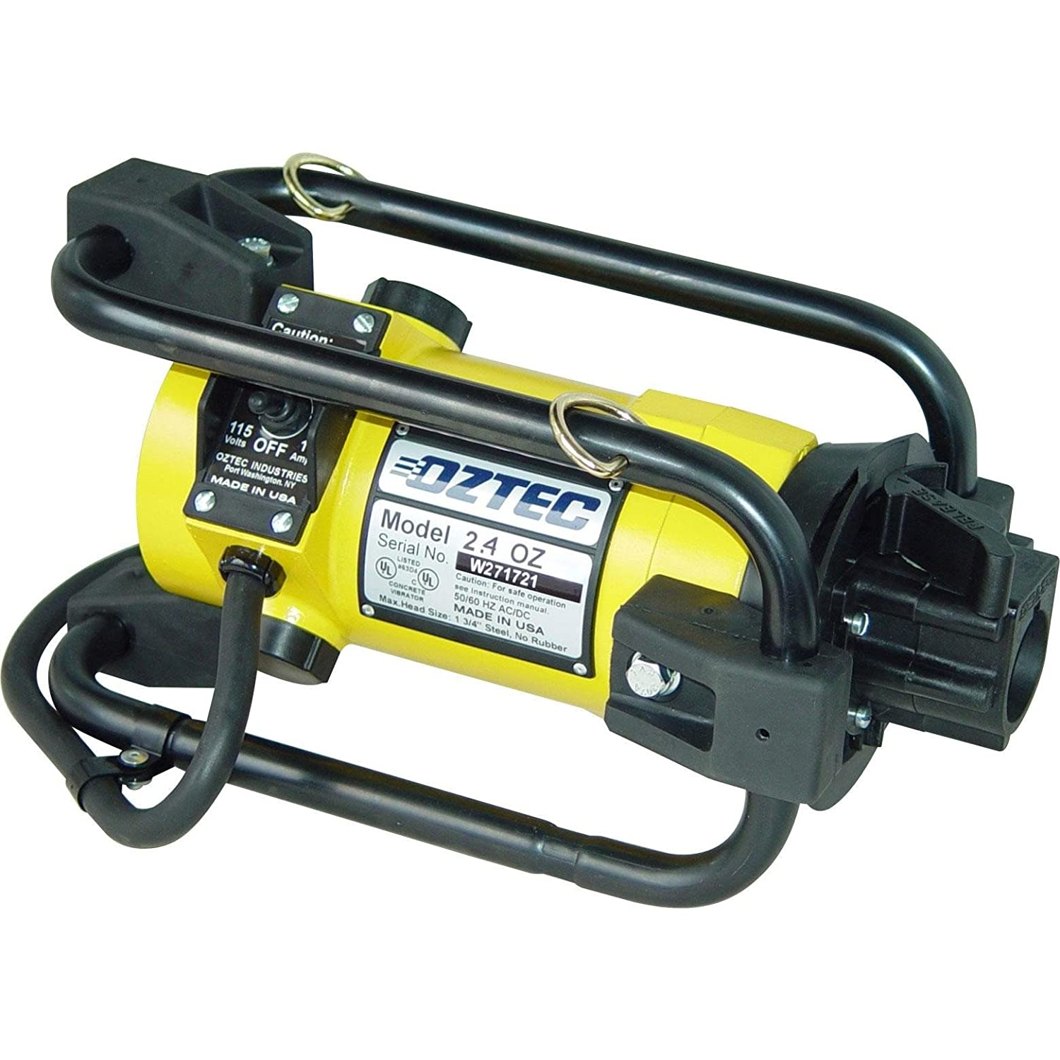 OZTEC Max 88% OFF 2.4SV-FSP21ST-HP088ST Stow Type 1 Concrete Vibrator Phase Directly managed store