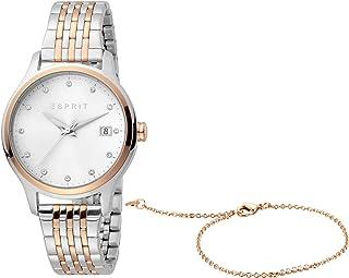 ساعة ماردا كوارتز عصرية للنساء من اسبريت، موديل ES1L198M0105