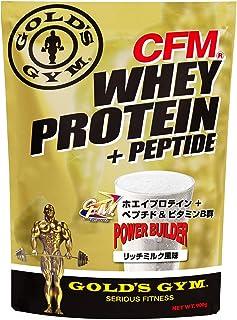 ゴールドジム(GOLD'S GYM) CFMホエイプロテイン リッチミルク風味 2kg