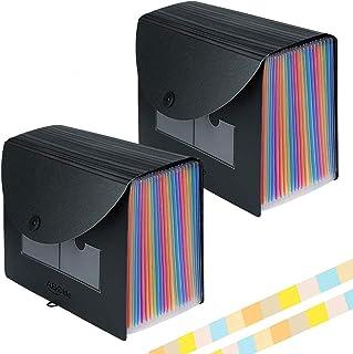 Trieur A4 24compartiments/Range Document/Rangement Papier - ABClife Trieur Valisette Rangement documents Classeur a4 Organ...