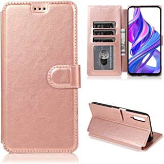 Multifunctional leather case For Huawei Honor 9X Calf Texture Magnetic Buckle Horizontal Flip Leather Case with Holder & C...