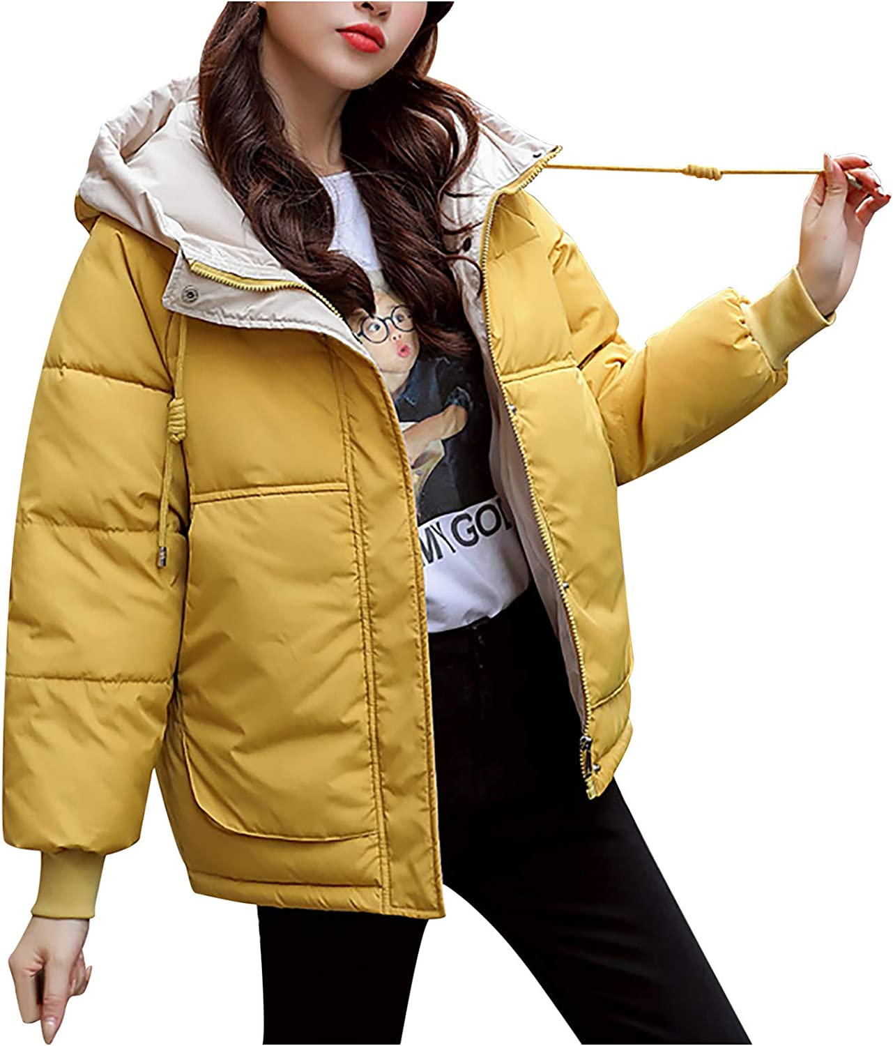 Max 43% OFF SERYU Women's Short Max 60% OFF Bread Coat Padded Oute Hooded Jacket Thicken