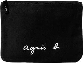 [アニエスベー ボヤージュ] agnesb.VOYAGE コスメポーチ 化粧ポーチ コットン GO03-04 (ブラック)
