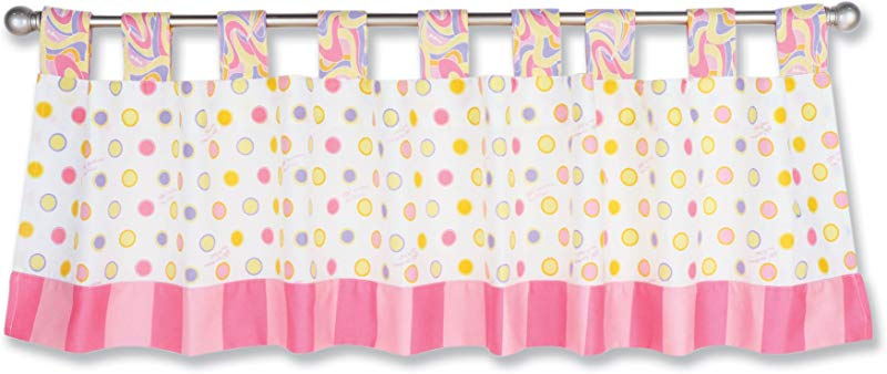 Trend Lab Dr Seuss Window Valance Oh The Places You Ll Go Pink