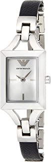 Emporio Armani Classic Women's Silver Dial Stainless Steel Band Watch - Ar7372, Analog Display