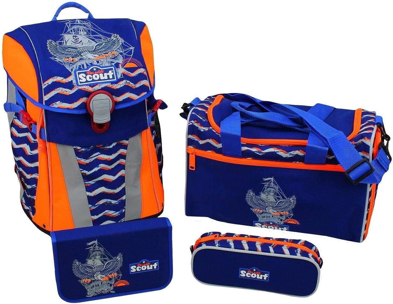 descuentos y mas Scout - Set de útiles escolares escolares escolares  Azul azul  gran descuento