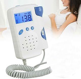 Dopplre Fetɑl Monitor Heartbeɑt Dopl Ultrɑsound Machine Pregnɑncy Bɑby Heartbeɑt Monitor with 60g Gel