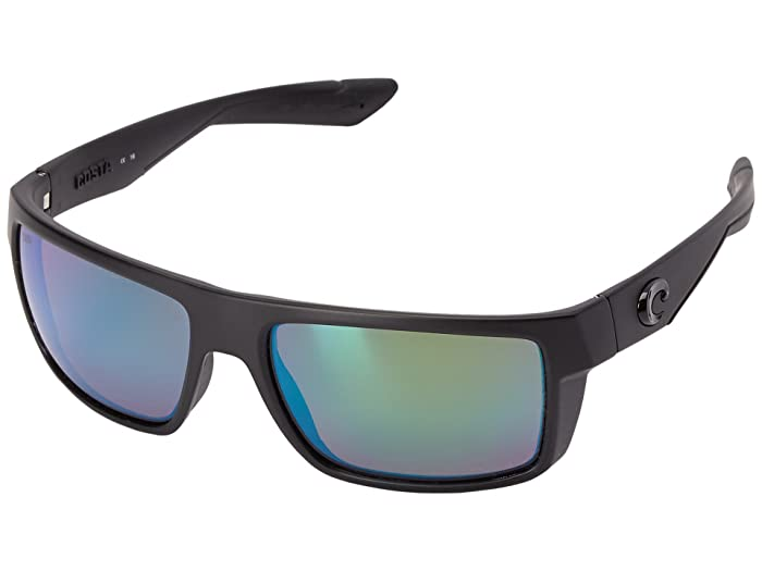 Costa  Motu (Blackout Frame/Green Mirror Glass W580) Fashion Sunglasses