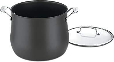 Cuisinart 6466-26 Contour Hard Anodized 12-Quart Stockpot with Cover