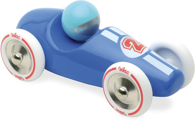 Vilac Race Car Toy, bluee