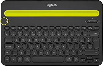 Logitech Bluetooth Multi-Device Keyboard K480 – Black – Works with Windows and Mac Computers, Android and iOS Tablets and ...