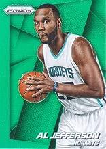 2014-15 Panini Prizm Basketball Prizms Green #17 Al Jefferson Charlotte Hornets