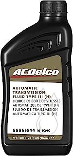 سائل ناقل الحركة الأوتوماتيكي ACDelco 10-9240 احترافي النوع الثالث (H) - 1 لتر