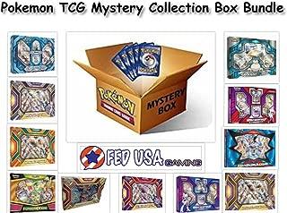 Pokemon TCG MYSTERY COLLECTION Box Bundle, 2 Random EX/GX Boxes 8 Packs + BONUS by FED USA Gaming