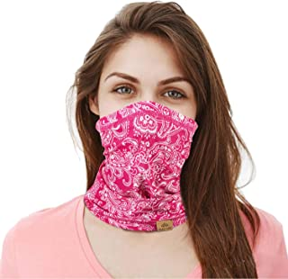 Men Women Sun Protection Neck Gaiter,Multi Use Face Cover/UPF 50+ UV