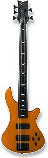 5 String Fretless Electric Bass Bolt_On Maple Neck,Poplar Body Sunburst