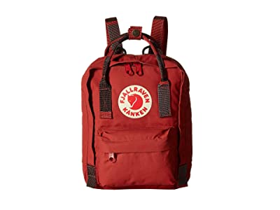 Fjallraven Kanken Mini (Deep Red/Random Blocked) Backpack Bags
