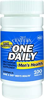 21st Century One Daily Men's Health Tablets, 100 Count (Pack of 2)