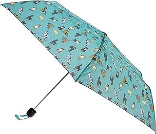 X-Brella Ladies/Women Colour Print Short Canopy Compact Umbrella (UK Size: One Size) (Turquoise)
