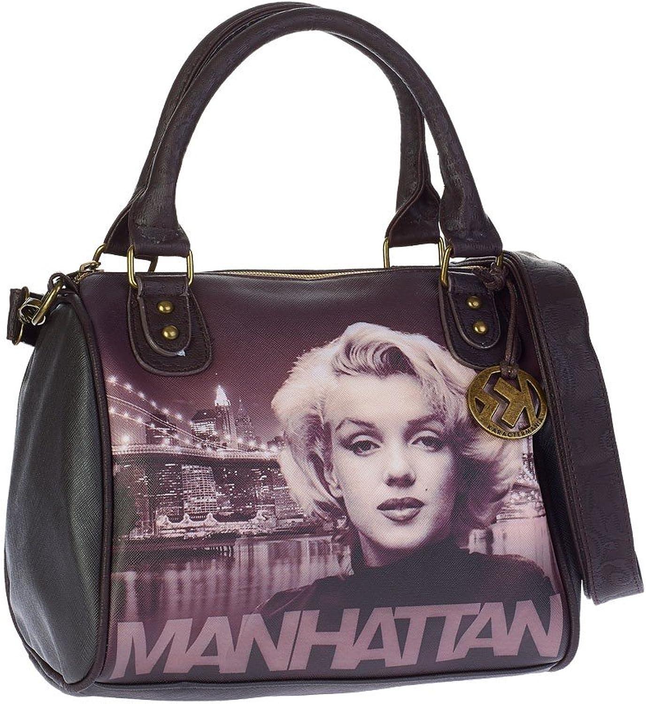 Marilyn Manhattan Bowlingtasche Handtasche Schultertasche Umhängetaschen Ch B01M0NWBC8  Diversifiziertes neues Design