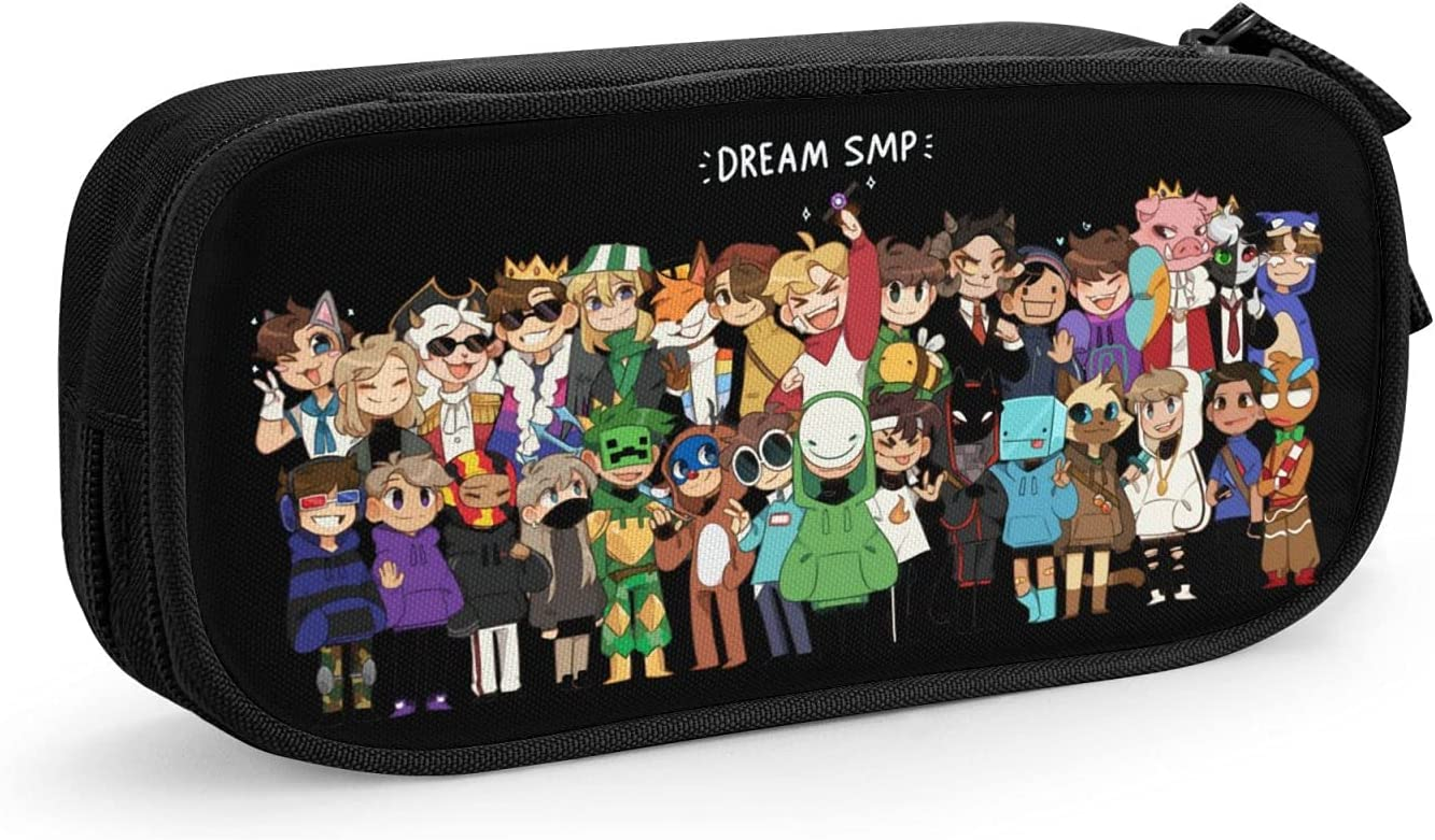 Dr-Eam Max 89% OFF S-Mp Team War Pencil Bag Large Pen H Case Capacity Tampa Mall