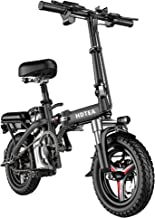 $499 » Sponsored Ad - Folding Electric Bike, 250W Electric Bike Suitable for Adults and Teenagers Removable Battery Fat Tire Elec...