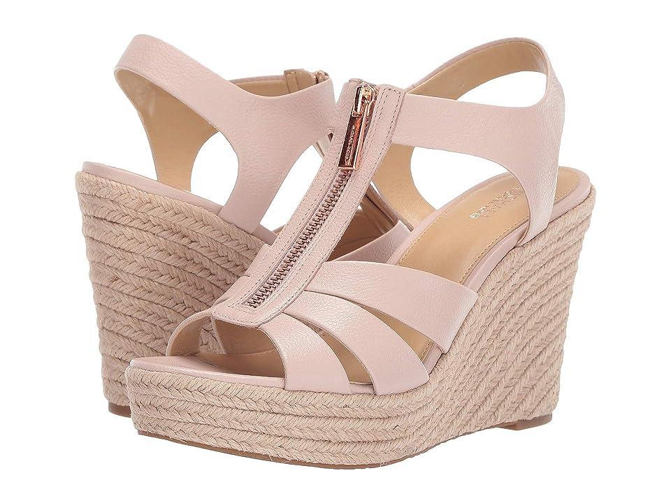 MICHAEL Michael Kors Berkley Wedge (Soft Pink) Women