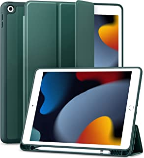 جراب Maledan لجهاز iPad من الجيل الثامن - جراب iPad 10.2 لعام 2020 ، جراب واقٍ من مادة البولي يوريثان الحراري الناعم Smart...