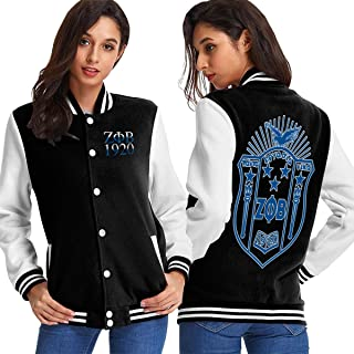 zeta phi beta bomber jacket