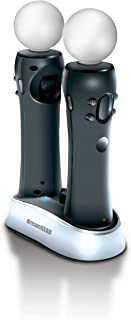 dreamGEAR Dual Dock VR 2 stored and Charged PS4 for Motion Controller Black
