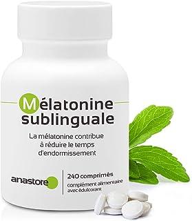 MELATONINA SUBLINGUAL   Pureza garantizada superior al 99%   1.8 mg / 240 dosis   Estevia (Aroma
