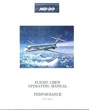 md-90 Flight Crew Operating Manual Volume V PERFORMANCE [OEM Loose Leaf in OEM Binder]