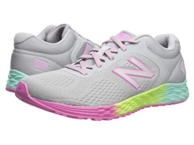 New Balance Kids Arishi v2 (Little Kid/Big Kid) (Light Aluminum/Rainbow 2) Girls Shoes
