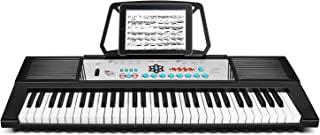 Flexzion 61-Key Electronic Keyboard Digital Kids Piano w/Com