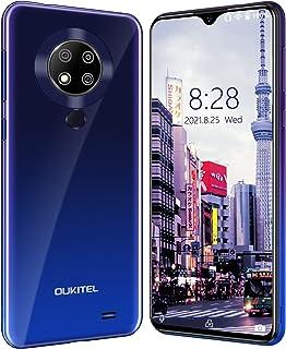 OUKITEL C19 Pro スマホ 本体 Android 10 シムフリー スマホ 6.49インチ 大画面 4GB RAM + 64GB ROM 1300万画素 トリプルリアカメラ デュアルSIM(Nano)+TF(256GB拡張 4000...