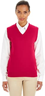 Instant Savings of 5/% /& More S - RED Product of Brand Harriton Mens Essential Polyfill Vest
