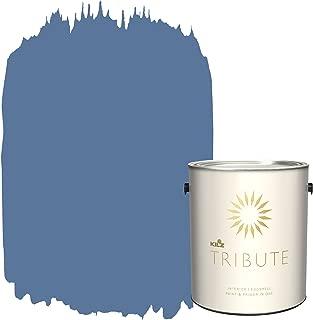 KILZ TRIBUTE Interior Eggshell Paint and Primer in One, 1 Gallon, Harbor Town (TB-49)