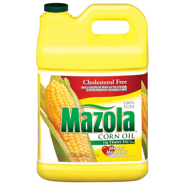 Amazon.com : Mazola Corn Oil (2.5 gal. jug) : Grocery & Gourmet Food