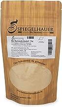 Harina de malta oscura - Malta de cebada organica de calidad grande - Malta de cebada para pan y bollería - Contenido: 1kg de harina de malta