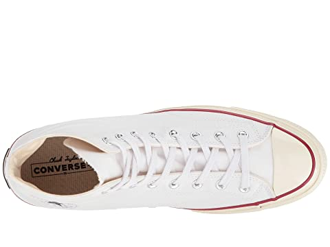 Converse Chuck Taylor® All Star® '70 Hi White/Garnet/Egret Shopping Online High Quality Y0at9TDRs