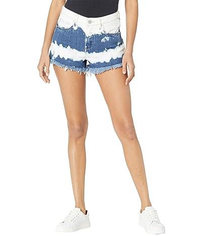 Blank NYC Bleach Tie-Dye Barrow Shorts in Manic Monday Women