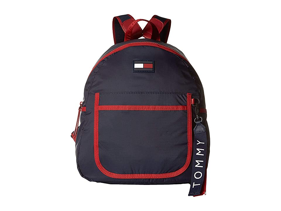 Tommy Hilfiger Crewe Backpack (Red/Multi) Backpack Bags