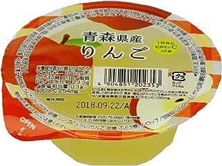 谷尾食糧 国産果実青森県産りんごジュレ 127g×12個