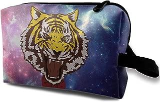 FEAIYEA Yuri Plisetsky Tiger Travel Bag Printed Multifunction Portable Toiletry Bag Cosmetic Makeup Pouch Case Organizer