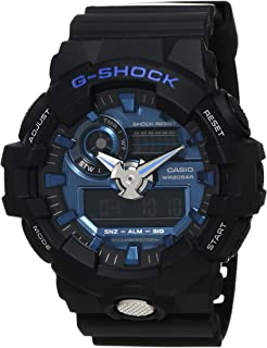 G-SHOCK Men's GA710-1A2 Year-Round Analog-Digital Automatic Black Watch
