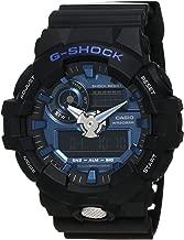 Casio GA710-1A2 G-Shock Standard Analog-Digital Men's Watch (Black/Blue)